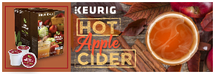 Keurig Apple Cider Kcup Pod